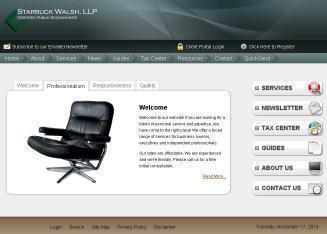 Starbuck+Walsh%2C+LLP+CPAs Website