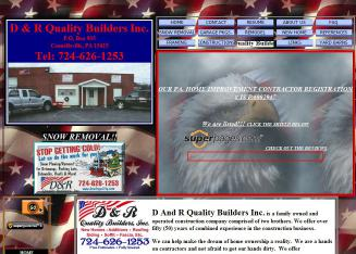 D+%26+R+Quality+Builders Website