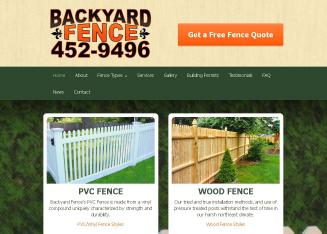 Backyard+Fence Website
