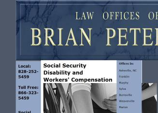 Peterson+Brian+Law+Offices Website