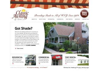 Classic+Awnings+%26+Party+Tents Website
