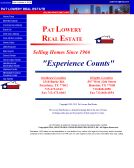 Pat+Lowery+Real+Estate Website