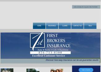 First+Brokers+Insurance Website