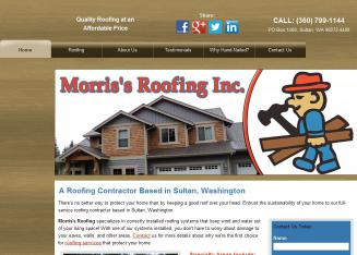 Morris%27s+Roofing+Inc Website
