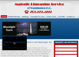 All++Events+Majestic+Limousine+Service Website