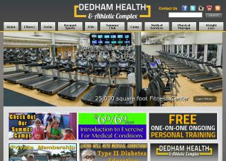 Dedham+Health+and+Athletic+Complex Website