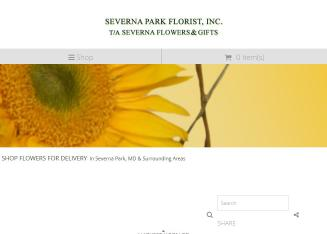Severna+Flowers+%26+Gifts Website