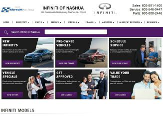 Infiniti+of+Nashua Website