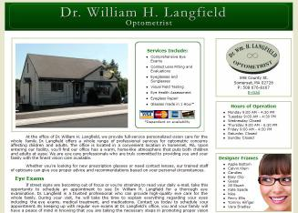 Langfield+William Website