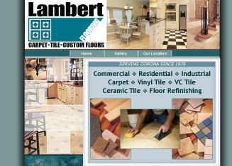 Lambert+Floorcovering Website