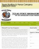 Texas Fence MGMT