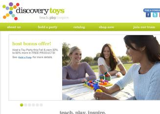 Discovery+Toys+Educational+Consultant Website