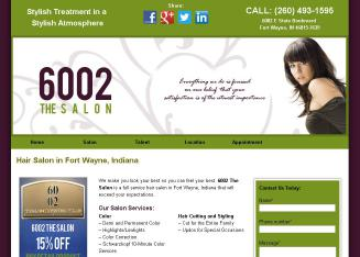 6002+Salon+%40+Professional+Village Website