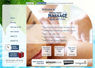 Healing+Hands+Massage Website