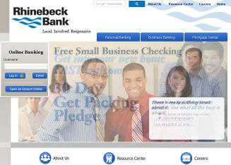 Rhinebeck+Bank Website