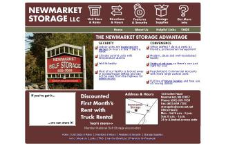 Newmarket+Storage+LLC Website