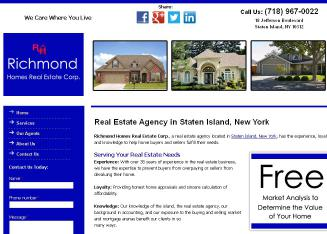 Richmond Homes Real Estate Corp