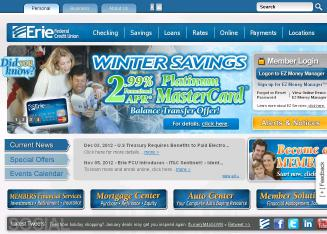 Erie+Federal+Credit+Union Website