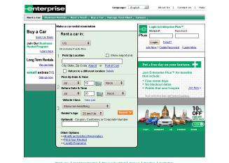 Enterprise+Rent-A-Car Website