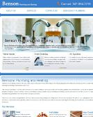 Benson+Plumbing+and+Heating Website