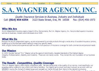 S+A+Wagner+Agency+Inc Website