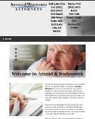 Arnold+%26+Wadsworth Website