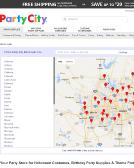 Party+City Website