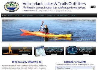 Adirondack+Lakes+%26+Trails+Outfitters Website