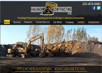 Hallack+Contracting+Inc Website