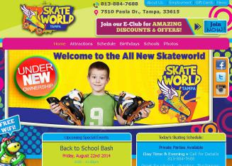Skateworld Website
