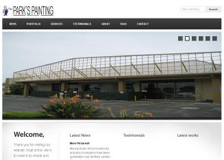 Park%27s+Painting+%26+Cleaning Website