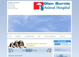 Glen+Burnie+Animal+Hospital Website
