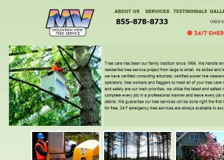 Mountain+View+Tree+Service+LLC Website