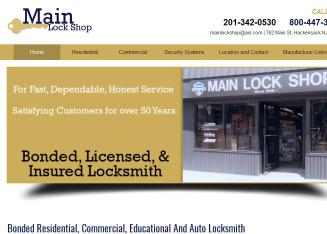 Main+Lock+Shop Website