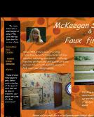 McKeegan Stenciling & Decorative Paint Finishes