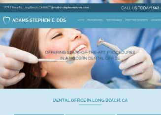 Adams+Stephen+E.+DDS Website