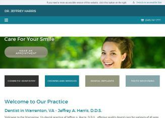 Dr.+Jeffrey+A+Harris Website