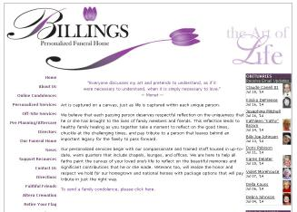 Billings+Funeral+Home Website