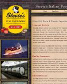 Stevie%27s+Italian+Foods Website