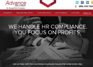Advance+Employment+Services Website