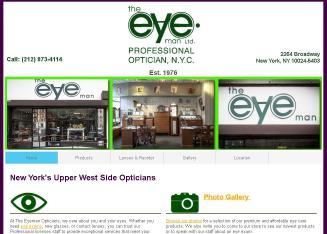 The+Eye+Man Website