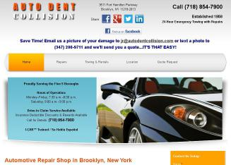 Auto+Dent+Collision+Inc Website