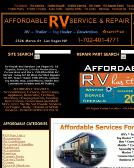 Affordable RV Service & Repair