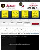 Always+Plumbing+%26+Heating Website