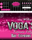 Voga+Salon Website