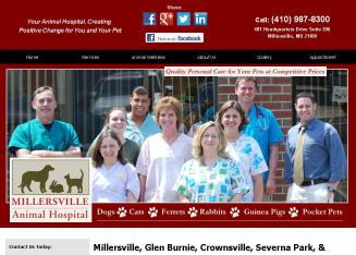 Millersville+Animal+Hospital Website