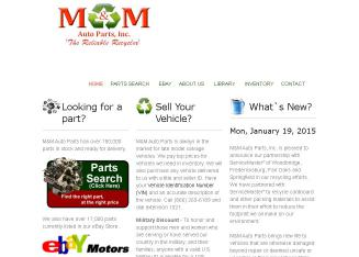 M+%26+M+Auto+Parts+Inc Website