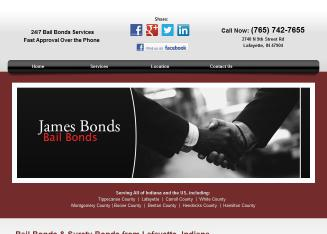 James%27+Bonds Website