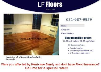 L.+F.+Flooring Website