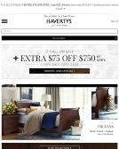 Havertys+Furniture Website